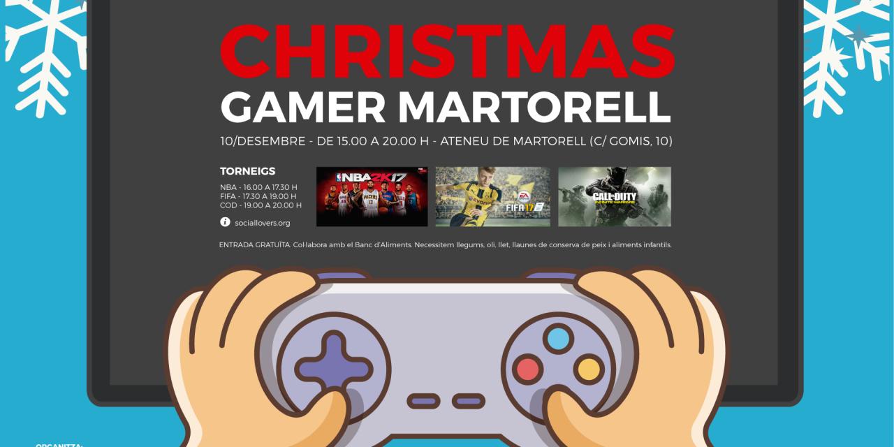 Christmas Gamer Martorell: ¿A qué esperas a jugar un torneo de videojuegos por un acto solidario?