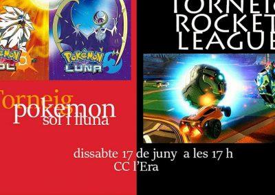 Torneo ROCKET LEAGUE & POKEMON SOL Y LUNA