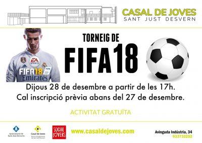Torneig Fifa18