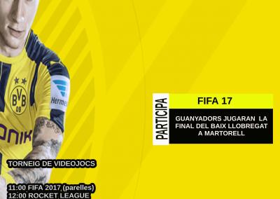 TORNEIG FIFA 17 + ROCKET LEAGUE