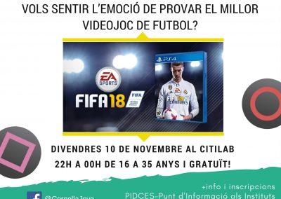 GAMER NIGHT FIFA18